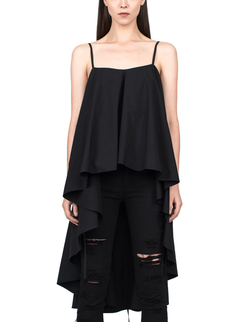 Long Back Flare Top