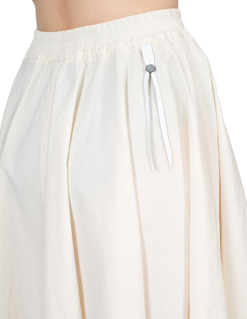 Long Back Flared Skirt