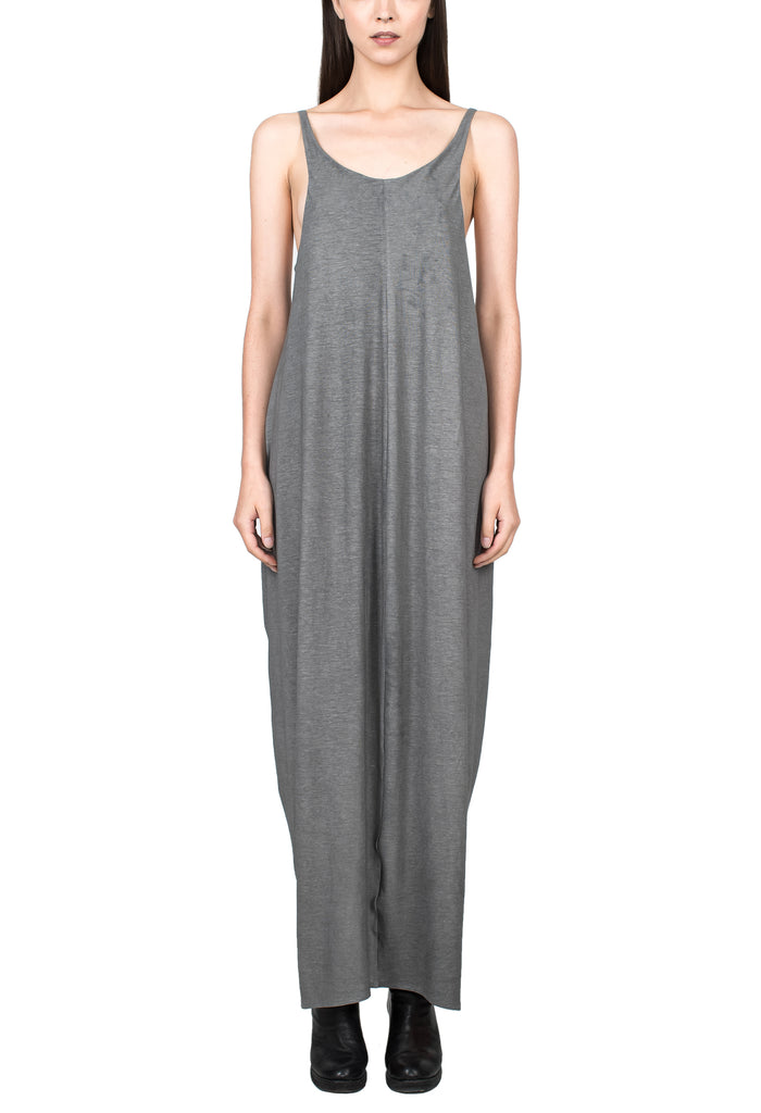 Cotton Grey Tank Dress
