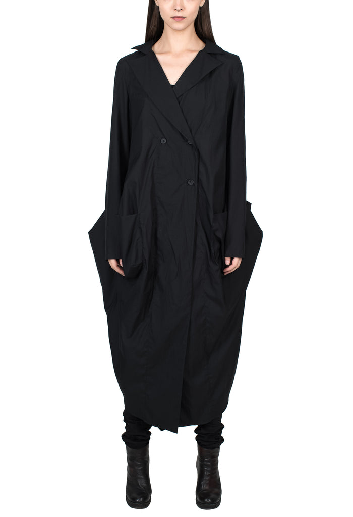 Lightweight Nylon Overcoat