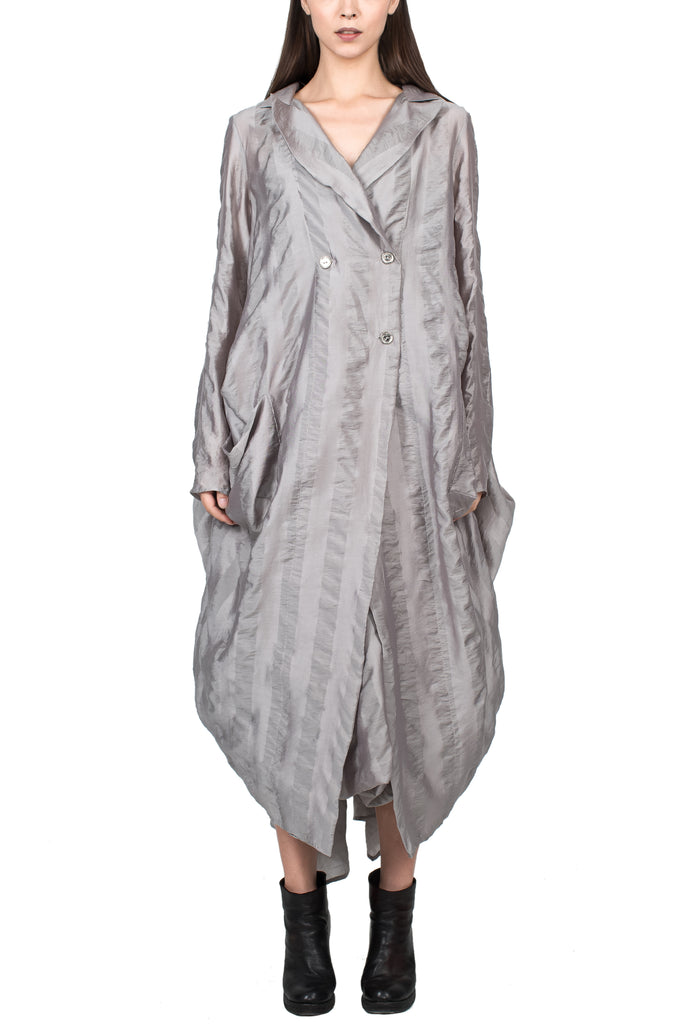 Lightweight Oversized Overcoat