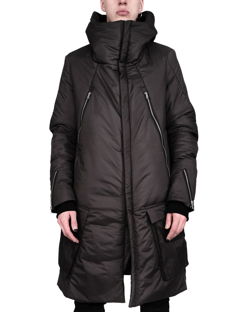 Patch Pocket Padded Coat