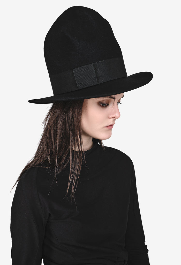 Extra Long Trimmed Hat