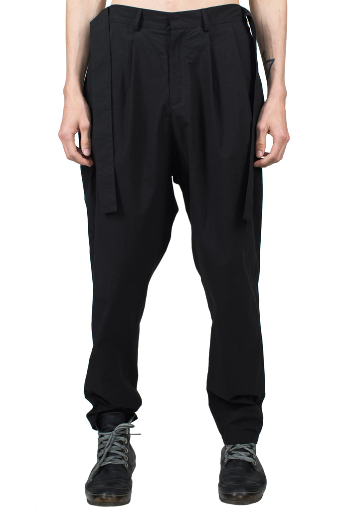 Lightweight Belted Cotton Pants