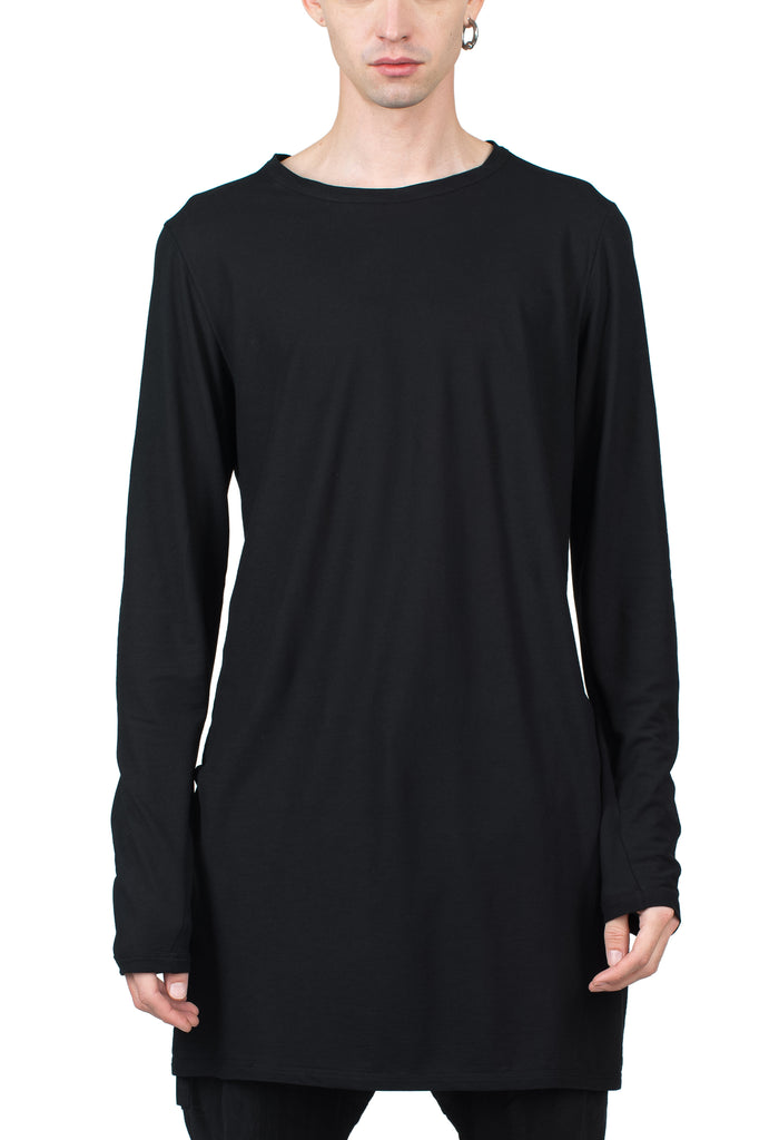 Cotton Jersey Longleeve T-Shirt