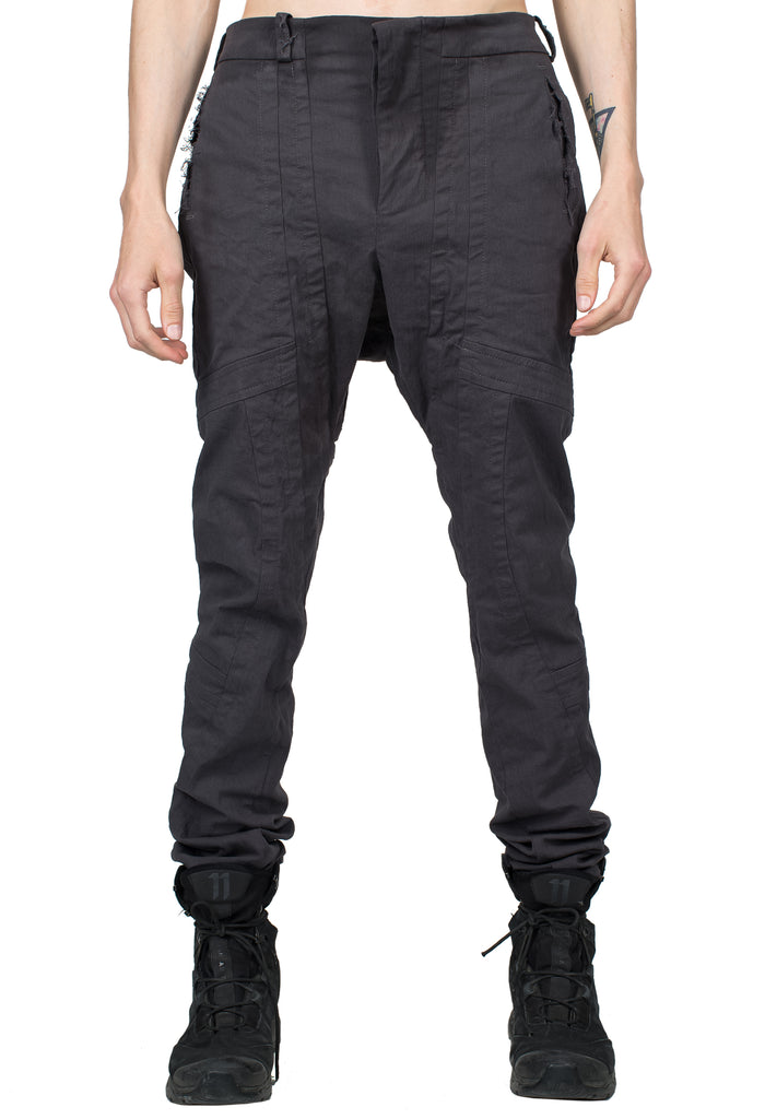 Destroyed Pockets Grey Jeans