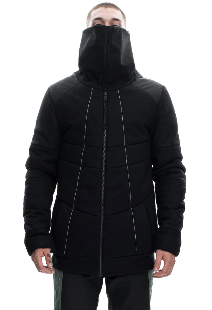 Insulated High Neck Cotton Jacket