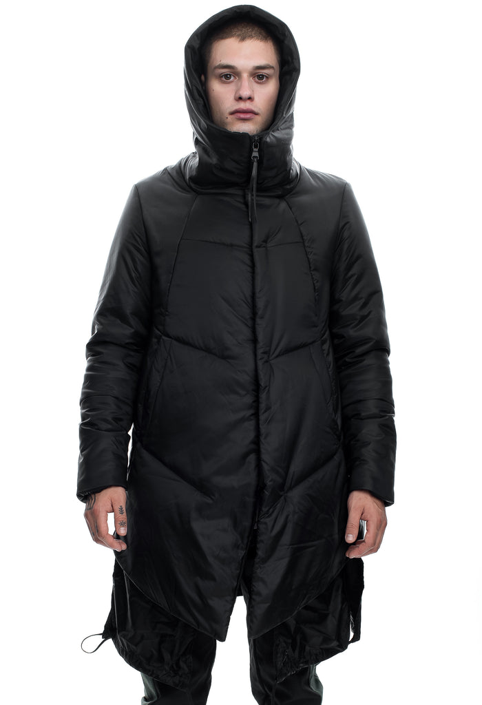 Insulated Hood Padded Jacket
