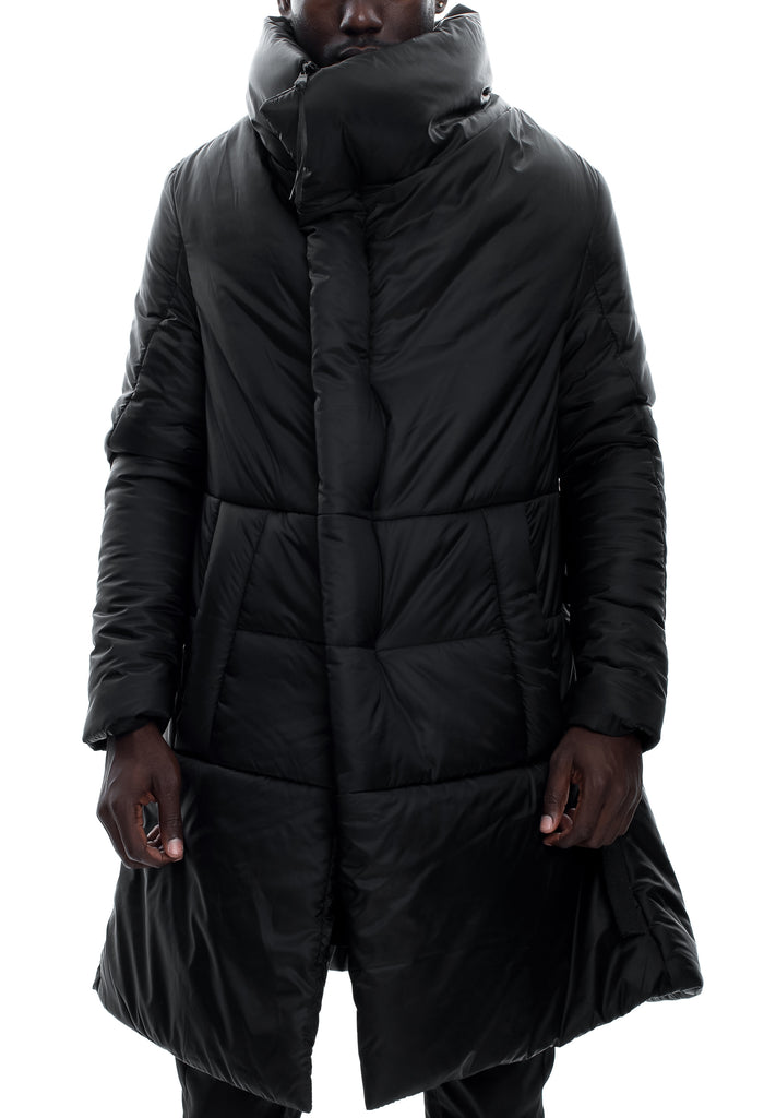 Insulated High Neck A-Shaped Jacket