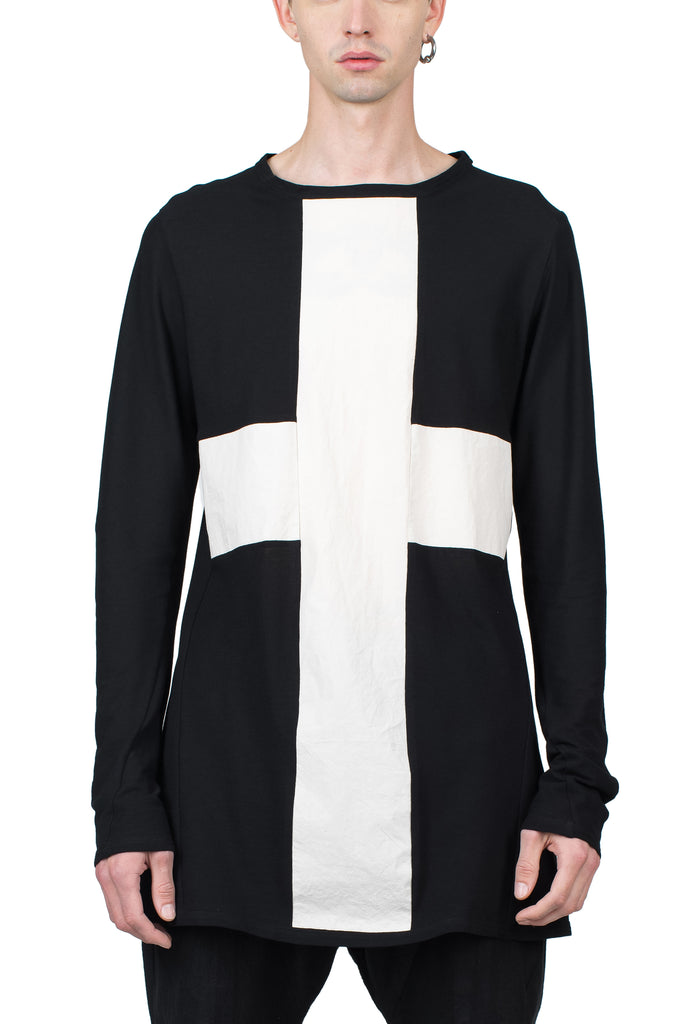 White Cross Longsleeve T-Shirt