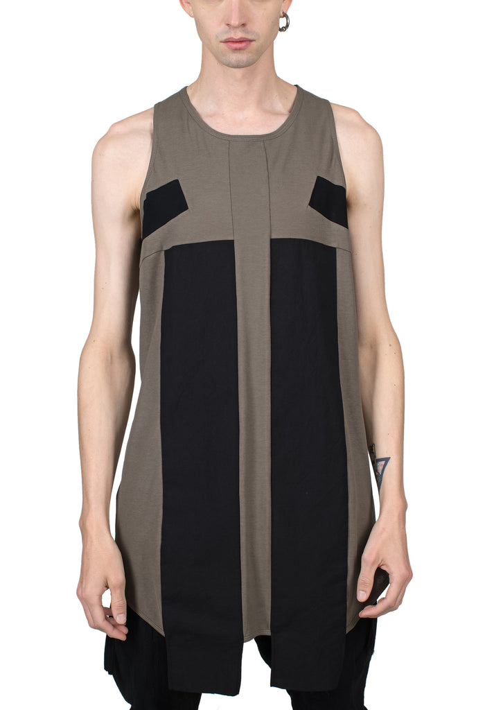 Black-Lined Tank Top