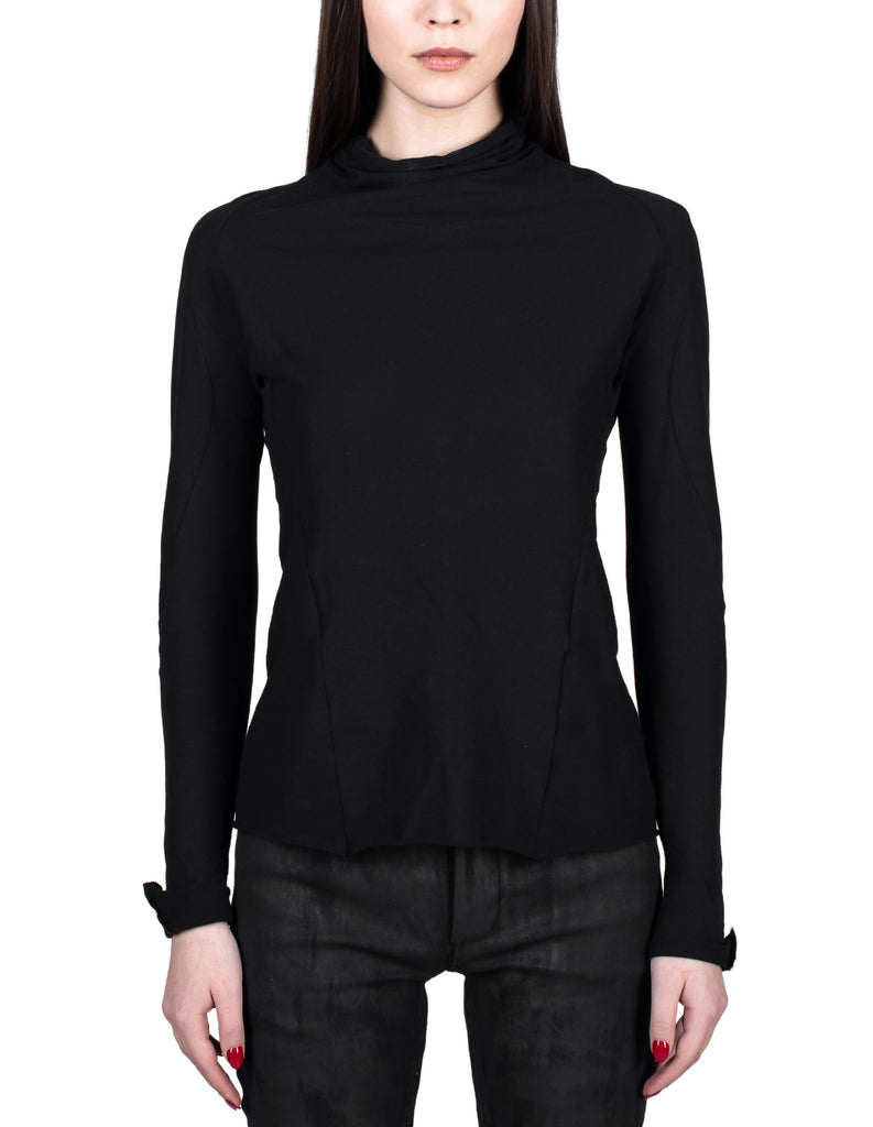 High Neck Detailed Longsleeve