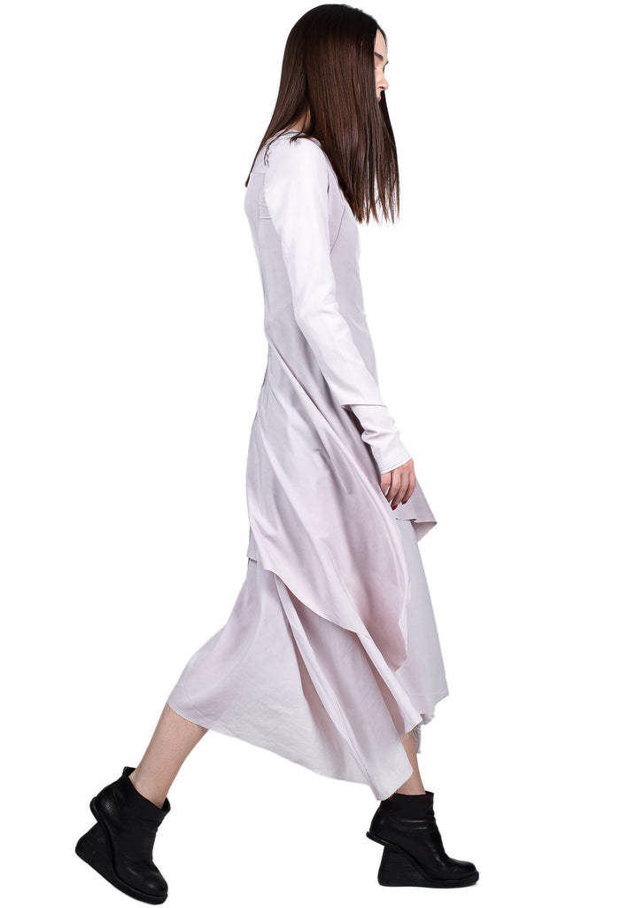 Asymmetric Double-Layered Dress