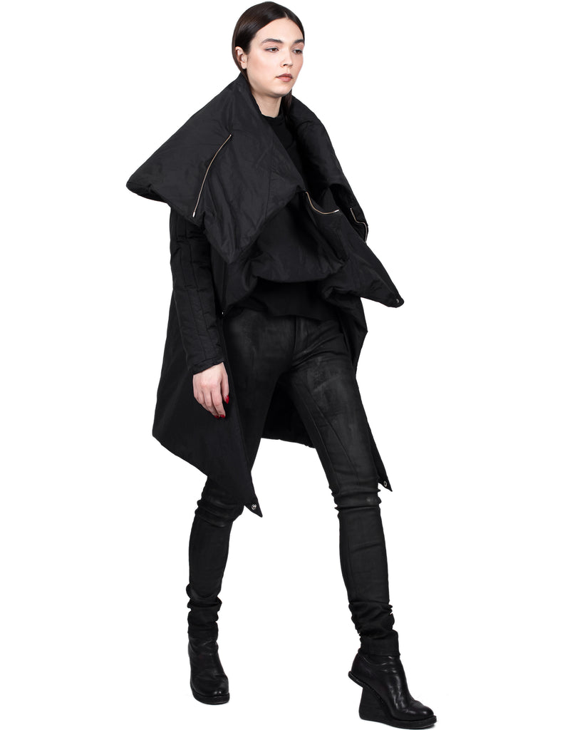 Front-Cropped Asymmetric Jacket