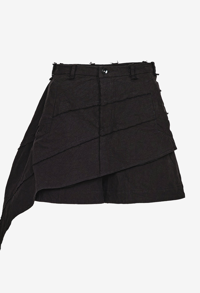 Wrap-Skirt Shorts