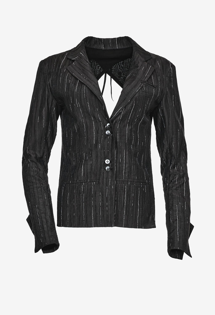 Open-back Suit Jacket