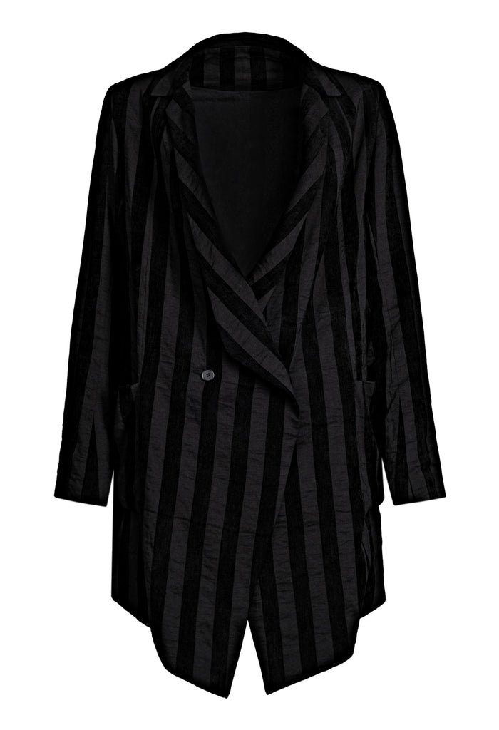 Stripe Suit Jacket