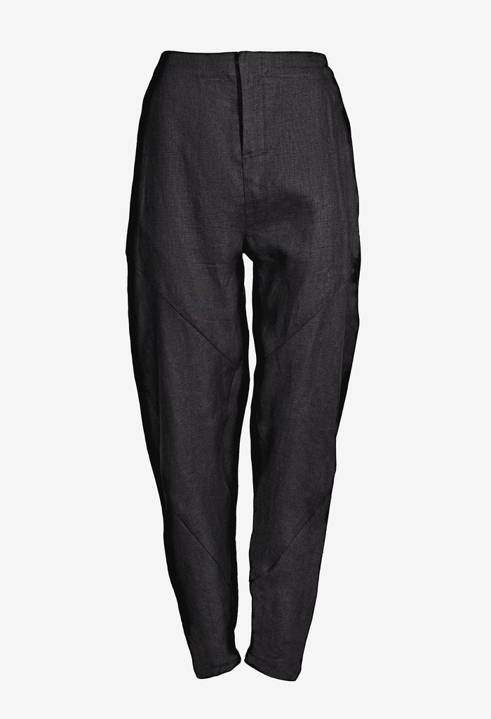 Drop Crotch Linen Pants