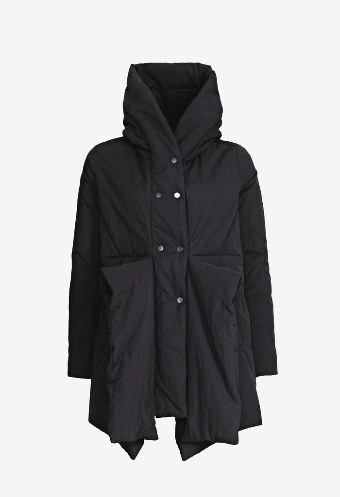 Panelled Hooded Jacket