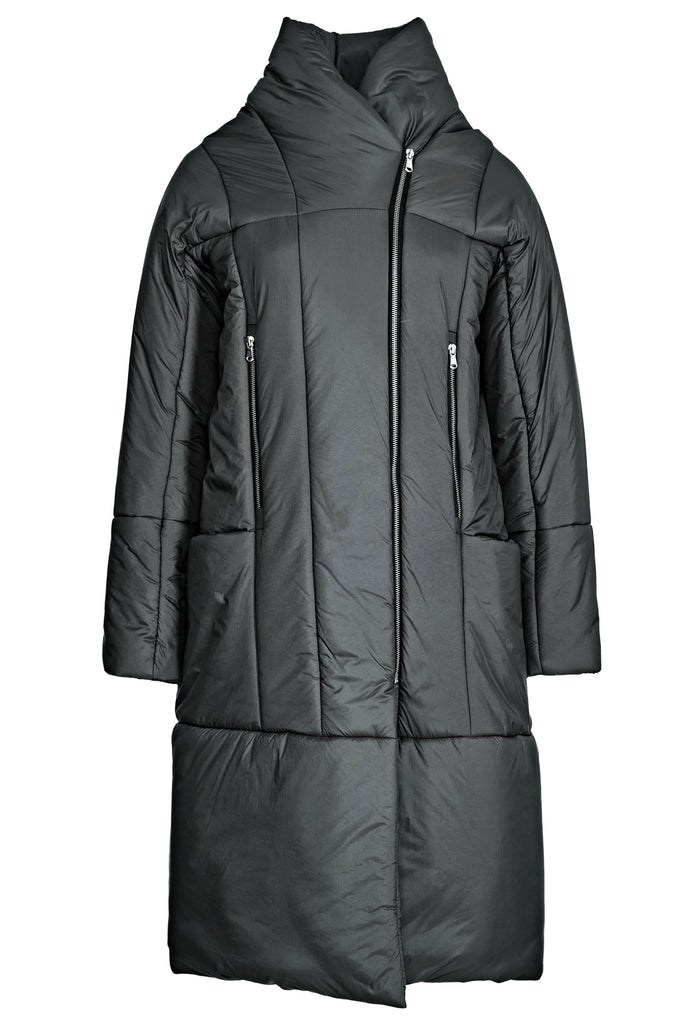 Zipped Padded Nylon Coat