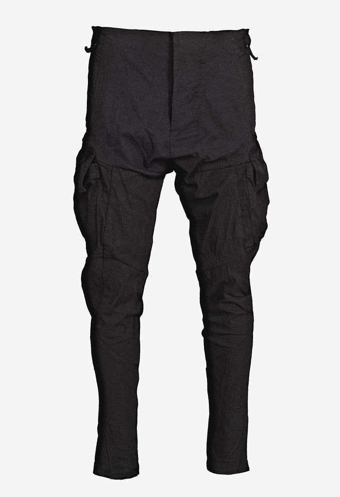 Cargo-Pocket Denim Pants
