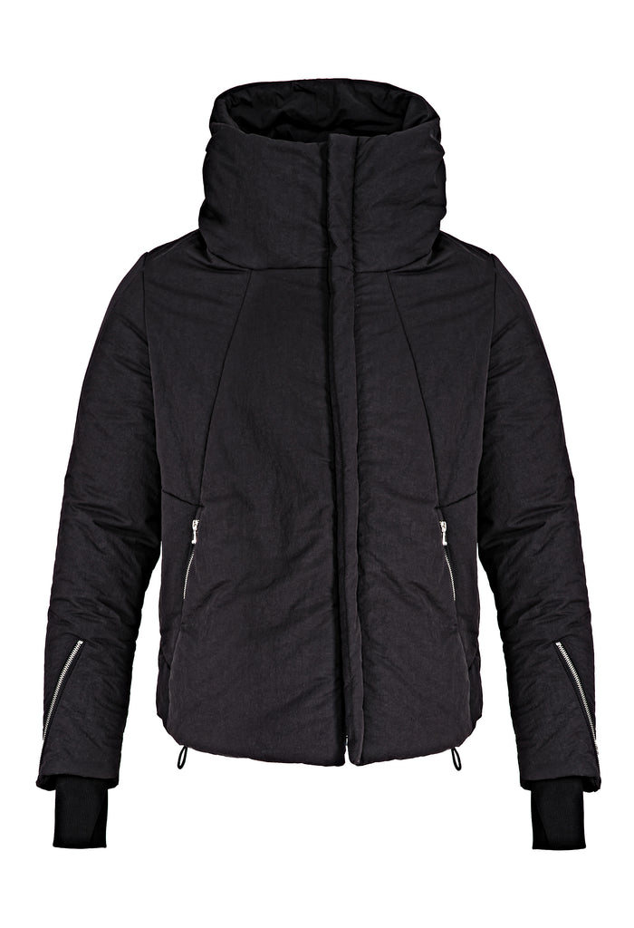 Cotton-Blend Padded Jacket