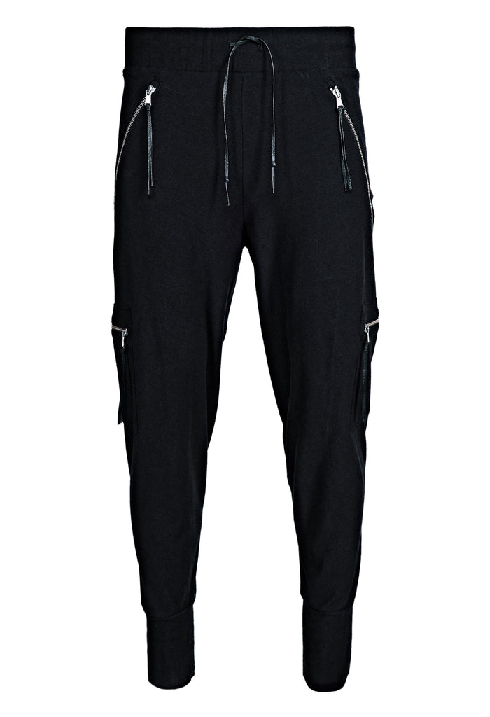 Zipped Track Pants