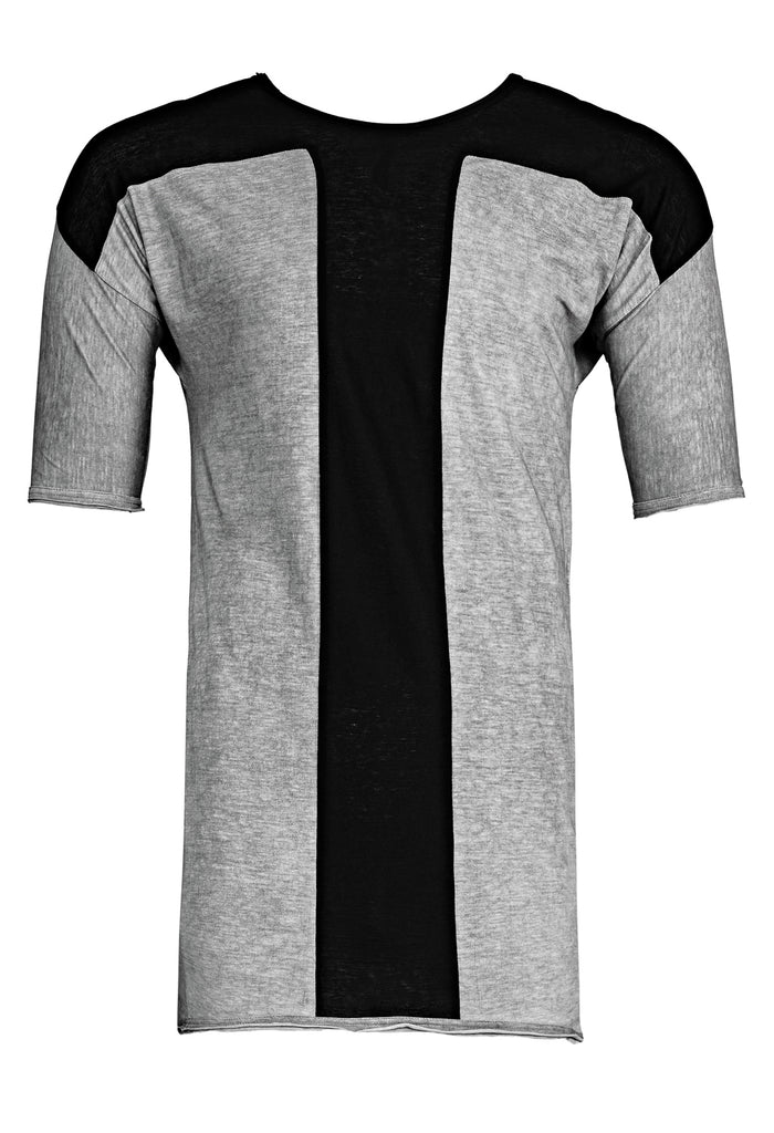 Half Sleeve Panelled T-Shirt