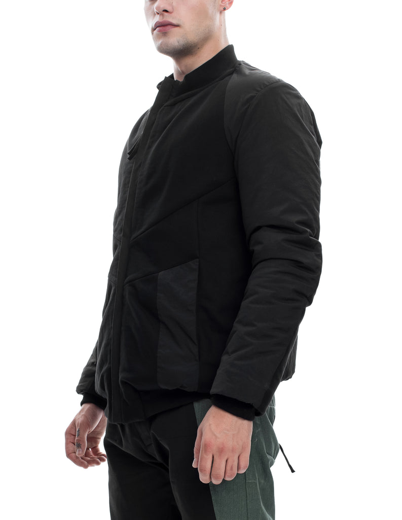 Insulated Cotton Bomber Jacket
