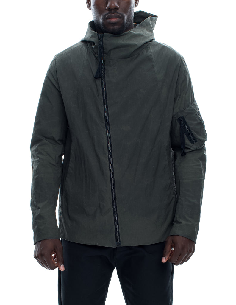 Asymmetrical Zip Tech Jacket