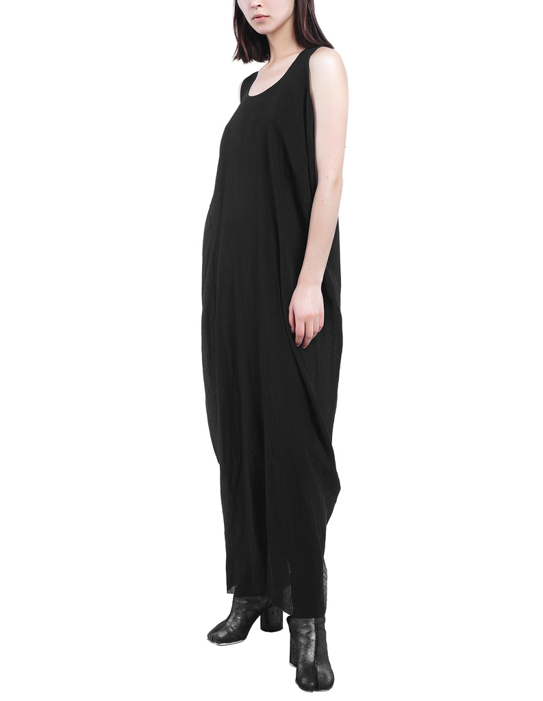 Split Back Drape Dress