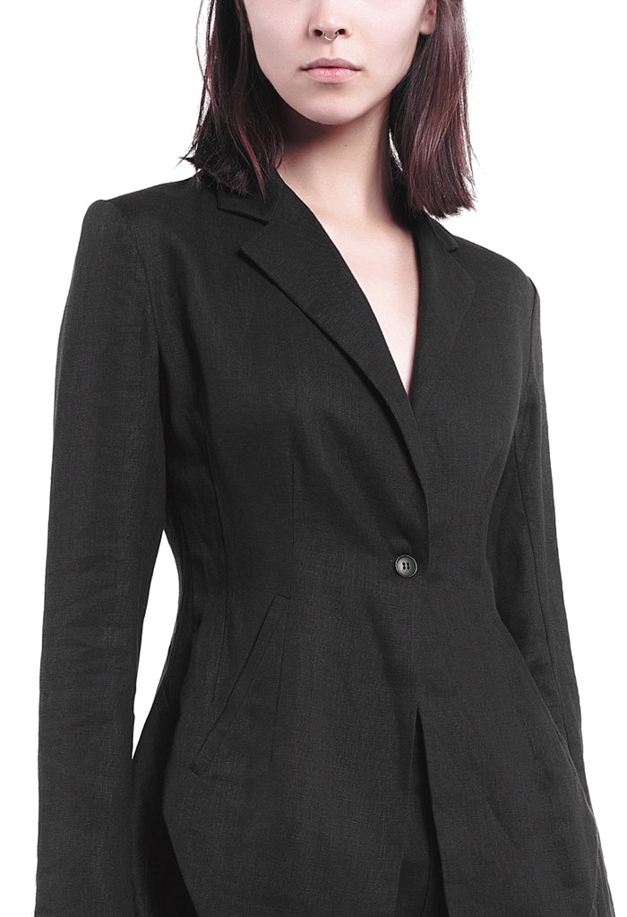 Asymmetric Suit Jacket