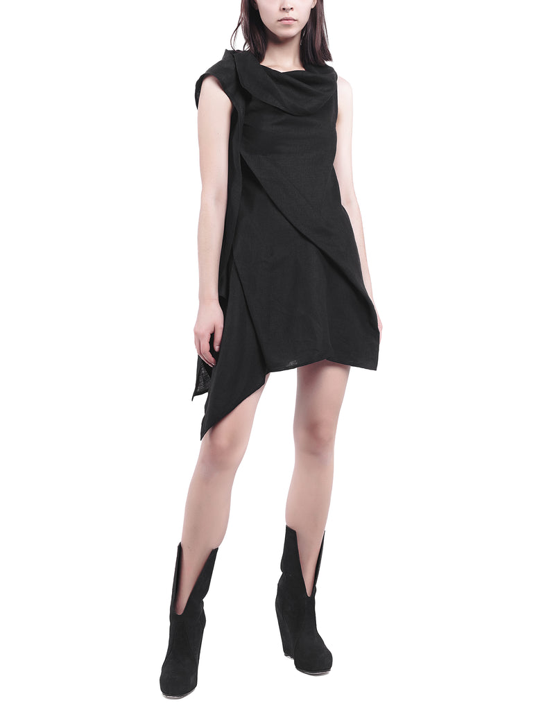 Asymmetric Top Dress