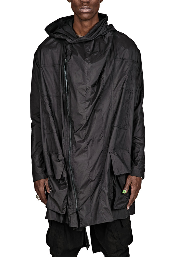 Windproof Hooded Parka