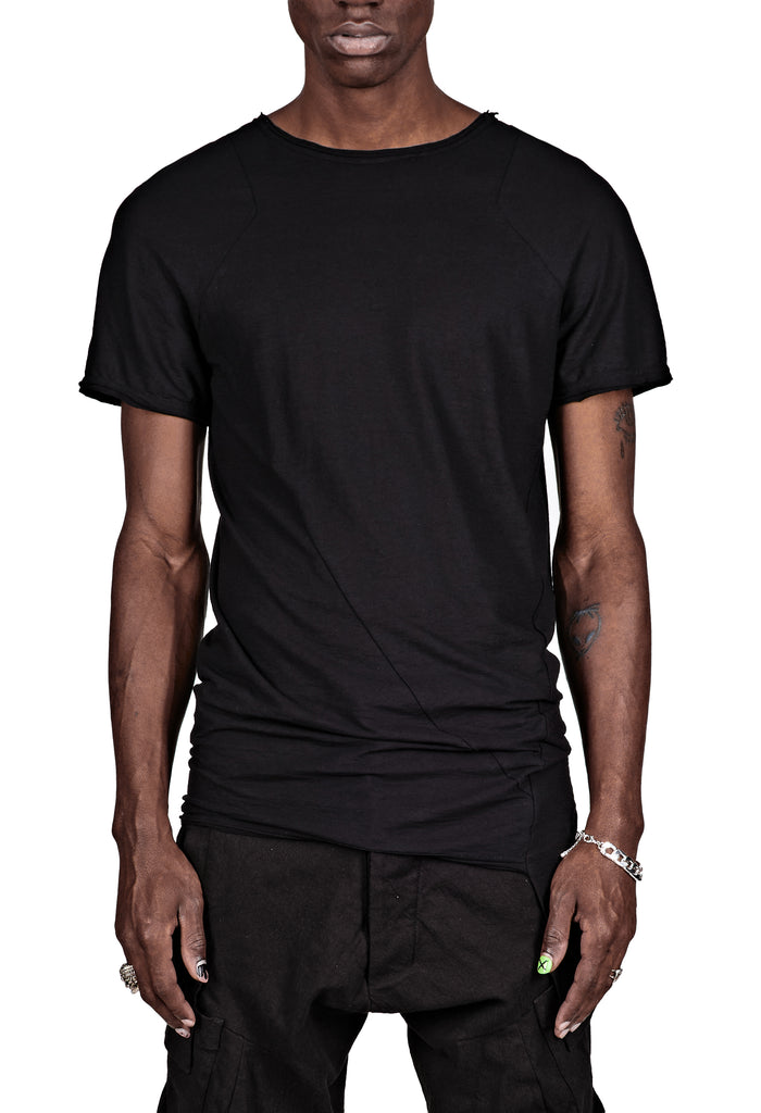 Asymmetric Stitched T-Shirt