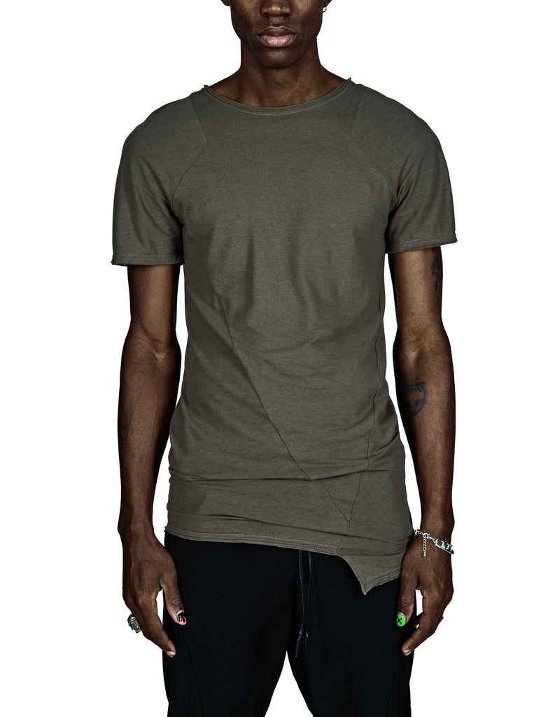 Tank-Styled Green T-Shirt