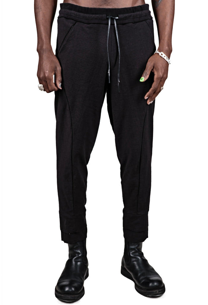 Contrast Pockets Trousers