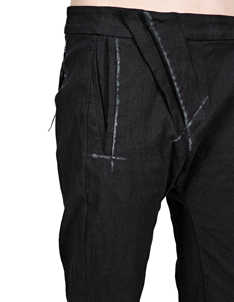Scar Stitched Painted Pants