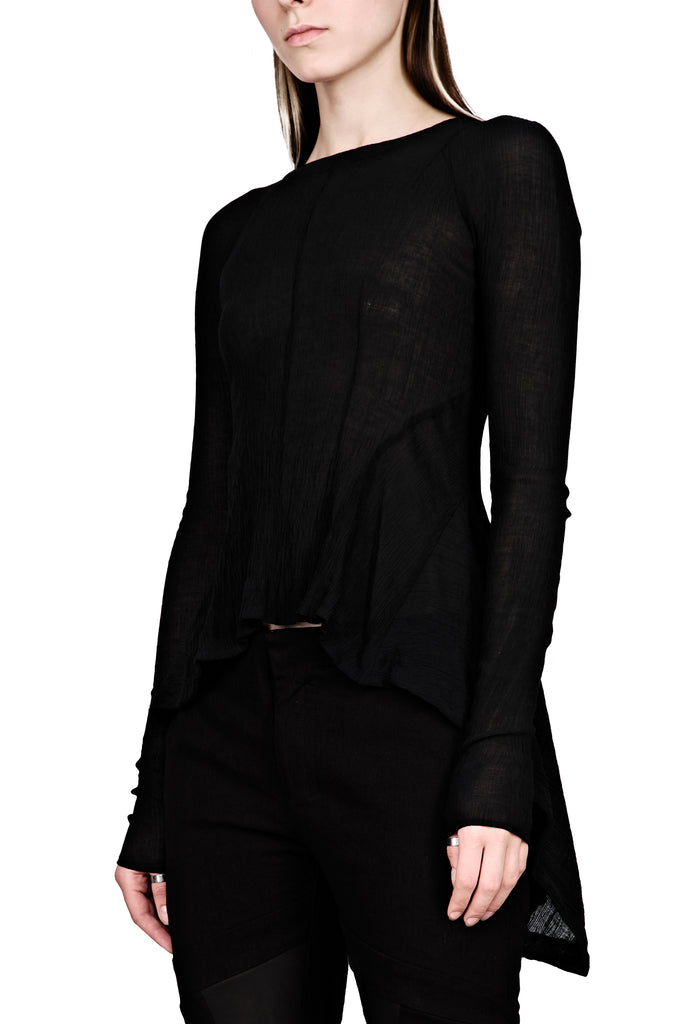 Asymmetric Transparent Top