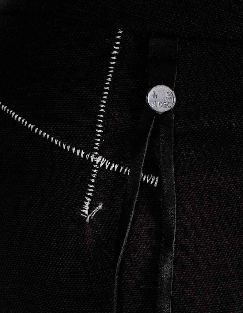 Scar Stitched Cotton Pants