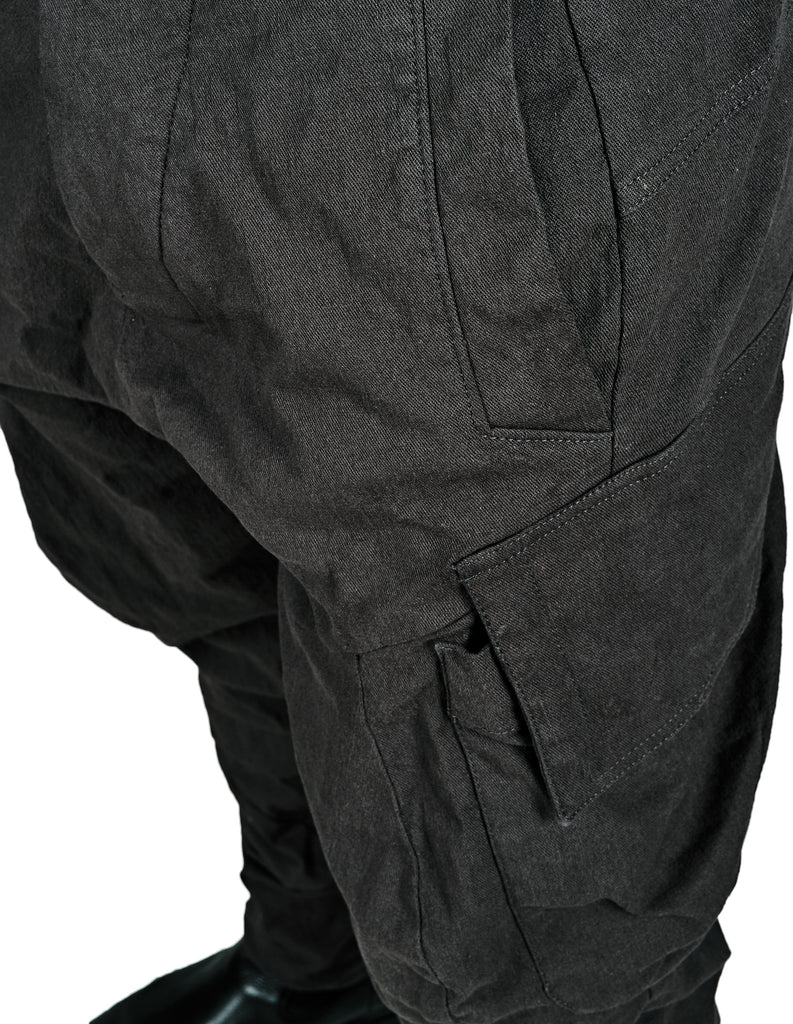 Cargo-Pocket Stretch Pants