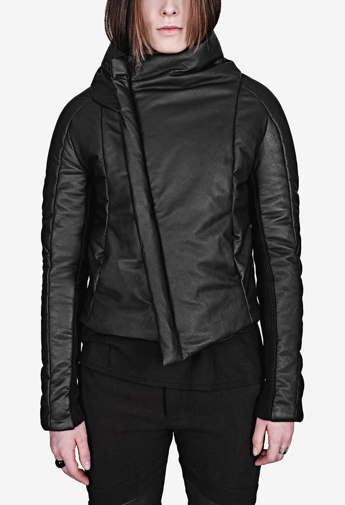 REVERSIBLE LEATHER JACKET