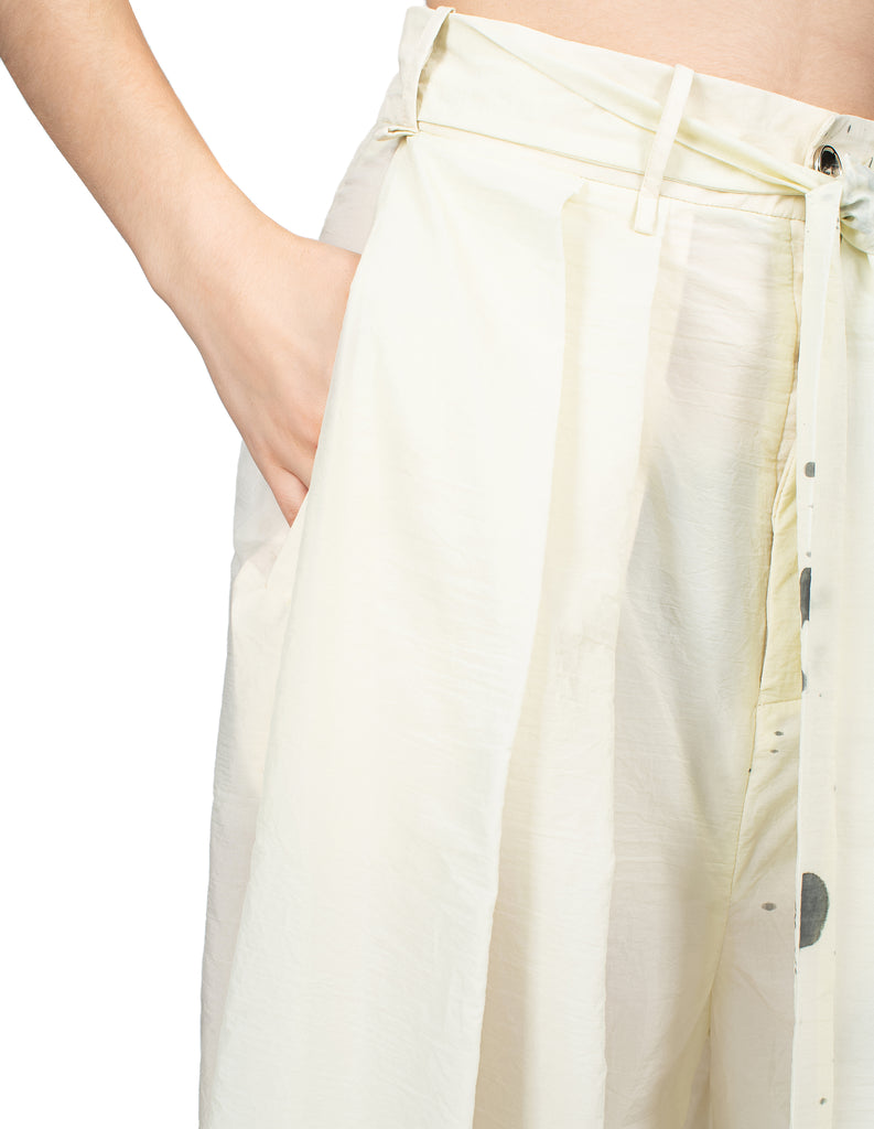 Hand Painted Pleat Pants