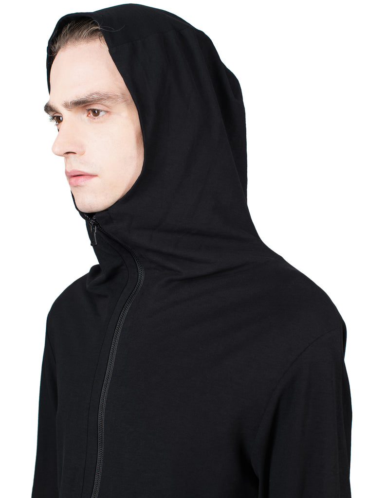Double-Layered Zip Hoodie