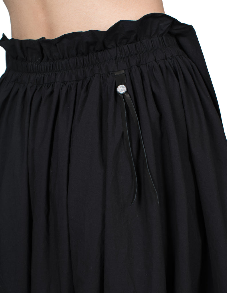 Double-Layered Tiered Skirt