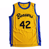 Teen Wolf Basketball Jersey, Beavers, Howard #42