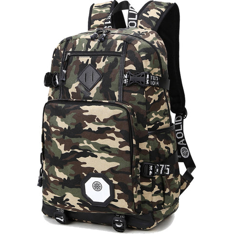 Urban Camo Street Backpack