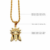 Statue Of Liberty Hip Hop Pendant Necklace