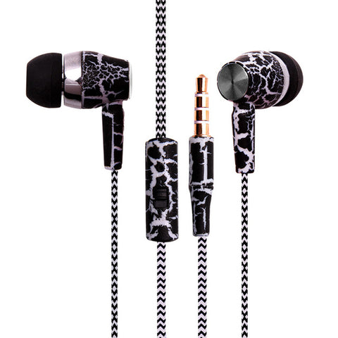 Urban Hiphop Rope Wire Stereo Bass Earbud Earphones