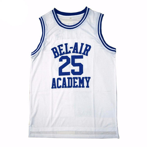 Fresh Prince Of Bel-Air Carlton Banks Academy Jersey #25